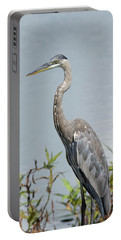 Great Blue Heron #2 Portable Battery Charger