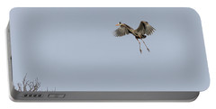 Portable Battery Charger featuring the photograph Great Blue Heron 2015-14 by Thomas Young