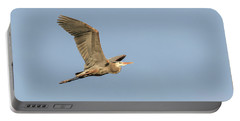 Portable Battery Charger featuring the photograph Great Blue Heron 2015-17 by Thomas Young
