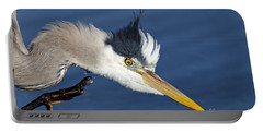 Great Blue Heron - Good Scratch Portable Battery Charger
