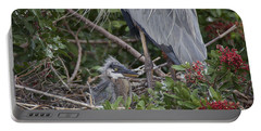 Great Blue Heron Nestling Portable Battery Charger