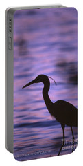 Great Blue Heron Photo Portable Battery Charger