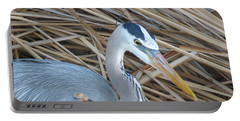 Great Blue Heron On Spi Portable Battery Charger