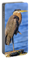 Great Blue Heron On The Chesapeake Bay Portable Battery Charger