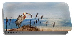 Great Blue Heron - Outer Banks Portable Battery Charger