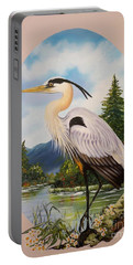 Flying Lamb Productions                 Great Blue Heron Portable Battery Charger