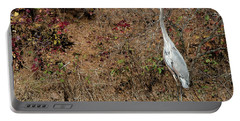 Great Blue Heron Standing Tall Portable Battery Charger