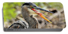Great Blue Heron Tongue Portable Battery Charger