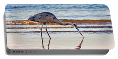 Great Blue Heron Twilight Portable Battery Charger