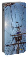 Portable Battery Charger featuring the photograph Great Day To Sail A Tall Ship by Dale Kincaid