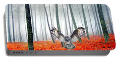 Great Gray Owl Portable Battery Chargers