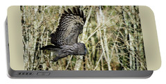 Great Grey's Flight Portable Battery Charger by Torbjorn Swenelius
