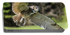 Great Horned Owl-2347 Portable Battery Charger