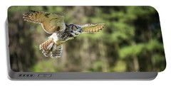 Great Horned Owl-2366 Portable Battery Charger