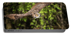 Great Horned Owl-2419 Portable Battery Charger