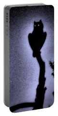 Great Horned Owl In The Desert 4 Portable Battery Charger