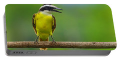 Great Kiskadee Portable Battery Charger by Tony Beck