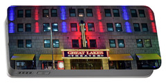 Portable Battery Charger featuring the photograph Great Lakes Theatre by Frozen in Time Fine Art Photography