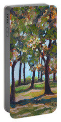 Great Outdoors Portable Battery Charger by Jan Bennicoff