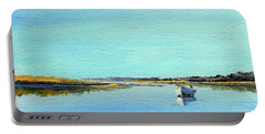 Great Pond, Edgartown Portable Battery Charger by Trina Teele