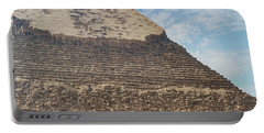 Portable Battery Charger featuring the photograph Great Pyramid Of Giza by Silvia Bruno