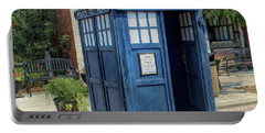 Great River Steampunk Festival Police Box Portable Battery Charger