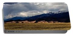 Great Sand Dunes Panorama Portable Battery Charger