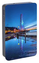 Portable Battery Charger featuring the photograph Great Seattle Wheel by Evgeny Vasenev