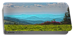 Great Smoky Mountain Afternoon Portable Battery Charger