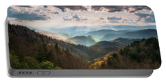 Great Smoky Mountains National Park North Carolina Scenic Landscape Portable Battery Charger