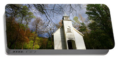 Great Smoky Mountains Spring Storms Over Palmer Chapel  Portable Battery Charger