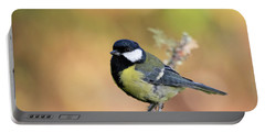 Great Tit - Parus Major Portable Battery Charger