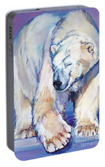 Great White Bear Portable Battery Charger by Mark Adlington