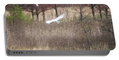 Portable Battery Charger featuring the photograph Great White Egret - 3 by David Bearden