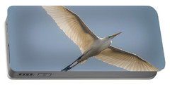 Portable Battery Charger featuring the photograph Great White Egret by David Bearden
