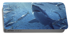 Great White Shark Carcharodon Portable Battery Charger
