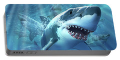 Great White Shark Portable Battery Charger