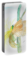Greater Bird Of Paradise Portable Battery Charger by Keshava Shukla