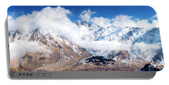 Portable Battery Charger featuring the photograph Greater Caucasus by Fabrizio Troiani