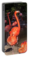 Greater Flamingo Portable Battery Charger