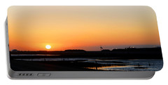 Greater Prudhoe Bay Sunrise Portable Battery Charger by Anthony Jones