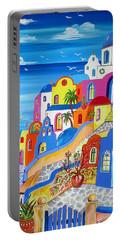 Greek Islands Fantasy Village Santorini Portable Battery Charger
