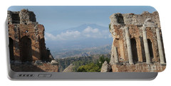 Greek Theatre Taormina Portable Battery Charger
