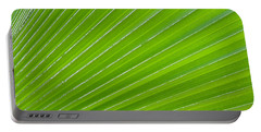 Green Abstract No. 1 Portable Battery Charger