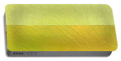 Green And Greenish Portable Battery Charger