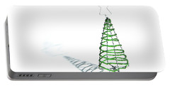 Green Bead Christmas Tree II Portable Battery Charger