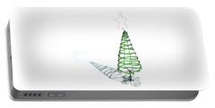 Green Bead Christmas Tree II Portable Battery Charger