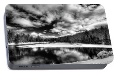 Portable Battery Charger featuring the photograph Green Bridge Solitude by David Patterson