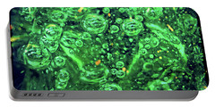Green Bubbles Floating Portable Battery Charger