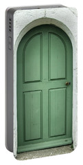 Green Church Door Iv Portable Battery Charger
